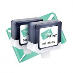 Cartouche Pitney Bowes ® DM INFINITY compatible (lot de 2)