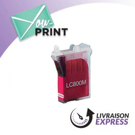 BROTHER LC800M alternatif - Cartouche d'encre magenta